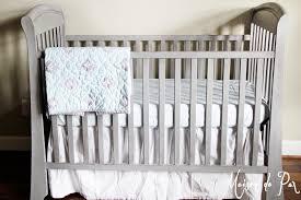 gorgeous gray crib makeover maison de pax
