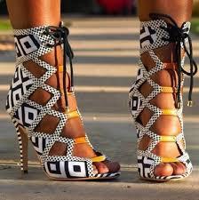designer stiletto heels summer new shoes high heels sandals casual print autumn 8cm