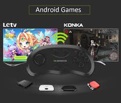 vr shinecon bluetooth wireless gamepad remote controller 5 32