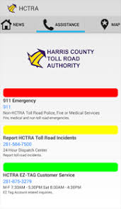 harris county toll road map hc toll road authority android apps on play