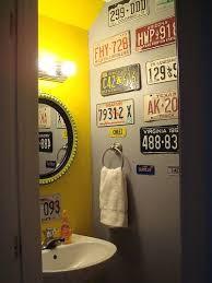 Bathroom Amusing Metal Garage Storage Flickr Find Amanda And Josh U0027s Quirky Powder Room Garage