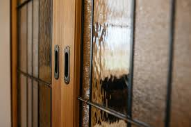 stained glass internal doors doors mahurangi joinery
