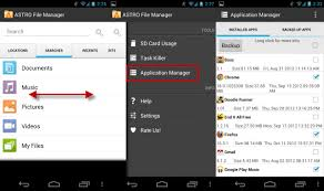 application manager android how to backup android with astro file manager