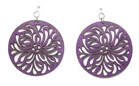 purple earrings purple earrings trendearrings