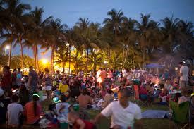 peacock park home decor coconut grove miami 4th of july picnic fireworks celebration