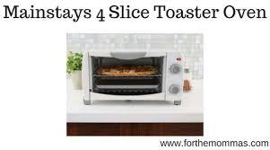Oven Toaster Walmart Walmart Mainstays 4 Slice Toaster Oven Only 12 06 Reg 15 07
