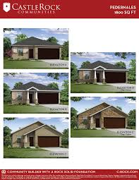 pedernales cobalt home plan by castlerock communities in laurel