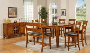 Dining Tables With Bench Seating Kitchen Table With Bench Seating Excellent 23 Space Saving Corner