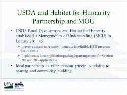 Usda Rural Housing Development Partnering With Usda Rural Development Affordable Financing