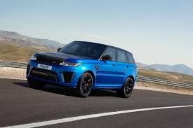 black chrome range rover 2018 range rover sport svr facelift has carbon hood autoevolution