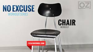 Gym Chair As Seen On Tv No Excuses Chair Workout The Dr Oz Show
