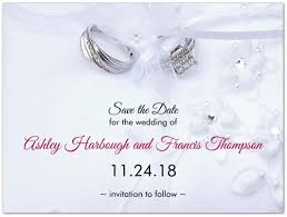 wedding save the date cards platinum promise wedding save the date cards storkie