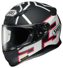 shoei motocross helmet shoei rf 1200 marquez black ant helmet cycle gear