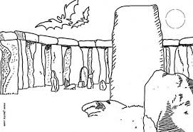 stone enchanted spirits place coloring pages hellokids