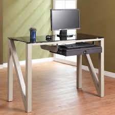 Computer Desk Houston Modern Computer Desk With Keyboard Tray Modern Computer Desk