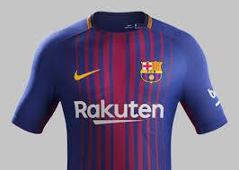 Home Kit Fc Barcelona Home Kit 2017 18 Nike News