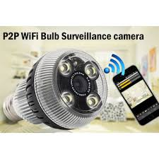 wifi camera light bulb socket china hd bulb p2p wifi camera e27 socket option motion senor 5
