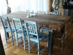dining room table six chairs dining room table with six chairs dark rustic prairie rectangle