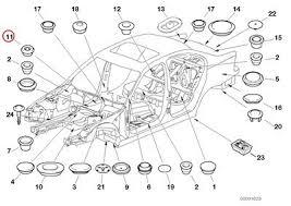 bmw 325i parts catalog amazon com 8 x bmw genuine side frame parts rear door
