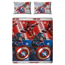 Marvel Double Duvet Cover Buy Captain America Civil War Duvet Cover Set From Our Children U0027s