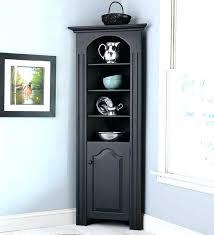 corner cabinet storage medium size of in corner pantry dimensions