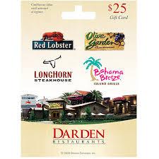 restaurants gift cards darden universal 25 gift card walmart