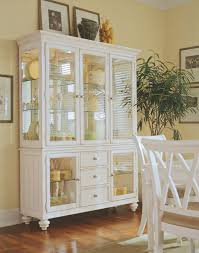 dining room glass cabinet glass cabinets for dining room in pure white color ideas idolza
