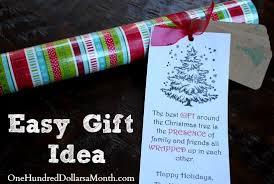 christmas gift idea for neighbors and teachers one hundred