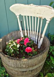for the love of white shabby chic gardening top of a a pretty old