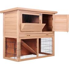 2 level small pet run guinea pig cage rabbit hutch buy rabbit