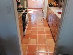 galley kitchen with saltillo tiles cleaning ways for saltillo