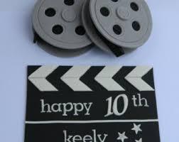 cinema cake topper etsy
