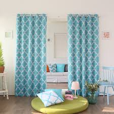 Teal Kitchen Curtains by Curtain Boho Curtains Ebay Kitchen Curtains Coral And Aqua