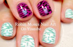 2 animal print nail designs diy nail art tutorial for short