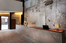 Concrete Reception Desk The Waterhouse At South Bund By Neri Hu Concrete Desks And Woods