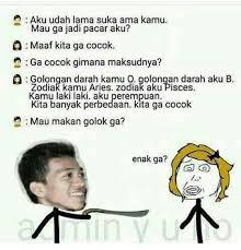 Meme Rage Comic Indonesia - mamam tu golok memes funny indonesia meme rage comic