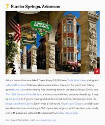 country living magazine 25 best small lake towns in america