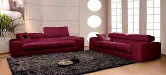 canape et salon canapés en cuir italien 3 places deux fauteuils