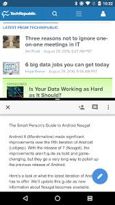 android meaning android nougat the smart person s guide techrepublic