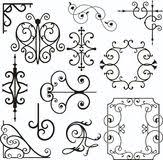 wrough iron ornaments illustration 3739608 megapixl