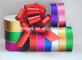 plastic ribbon factory hot sale metallic plastic ribbon rolls for gift packing