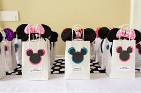 mickey mouse favor bags kara s party ideas modern rainbow mickey mouse clubhouse birthday