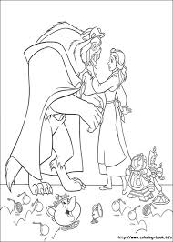 beauty beast coloring pages coloring book