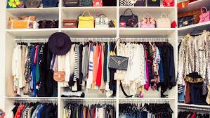 the most efficient way to hang your clothes in your closet once