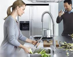 product spotlight grohe k 7 pre rinse kitchen faucet donco designs