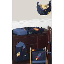 sweet jojo designs space galaxy collection 9pc crib bedding set