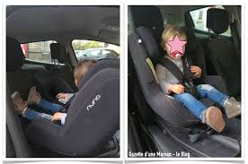 siege auto devant gazette d une maman le ma déception concernant le siège