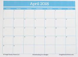 printable calendar pages free april printable calendar pages edit before you print