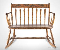 Antique Windsor Bench Antique Furniture Childs Furniture Miniature Furniture