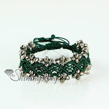 macrame bracelet with beads images Best friend drawstring wrap bracelets crystal beaded crystal beads jpg